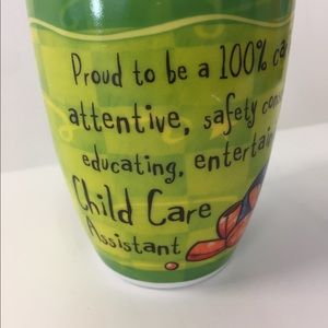 Fine Porcelain Coffee Tea Mug Child Care Assistant